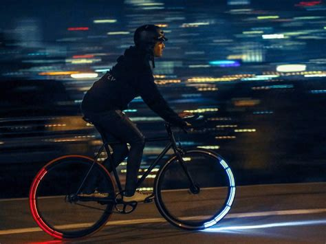 cycling lights for night riding these futuristic bike lights are one of the best ways to