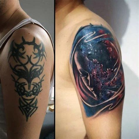 upper arm tattoo cover up designs 60 cover up ideas for before and after designs
