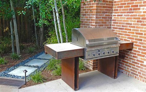 custom backyard grills sleek modern outdoor living space in park hill mile high