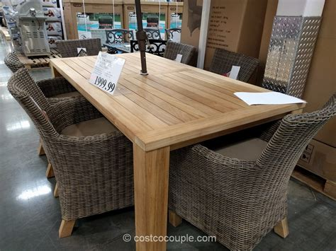 Patio Dining Sets Costco by Woven Wicker Patio Heater