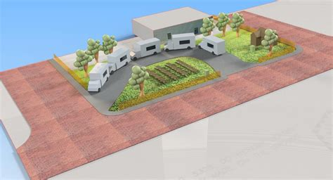 Food Truck Park Design | tyler food truck park freelance cad design cad crowd