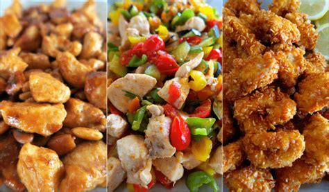 pollo cucinare bocconcini di pollo tre ricette facili e sfiziose per
