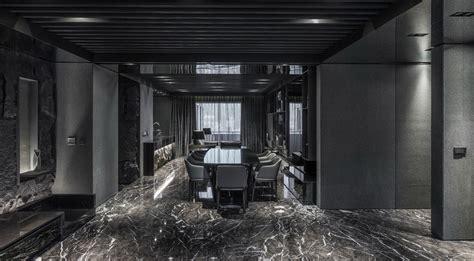 Black Master High Hitam monochrome modernity sleek apartment has a breath taking