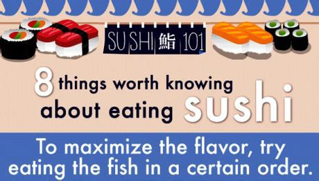 8 Things About You Do Not by 8 Things You Probably Don T About Sushi