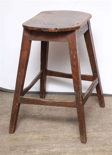 Kitchen Stools For Sale by Unusually Large Oval Kitchen Stool For Sale At 1stdibs