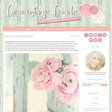 Top 28 Shabby Chic Website Templates 5 Best Images Of Shabby Chic Website Design Templates Chic Website Templates