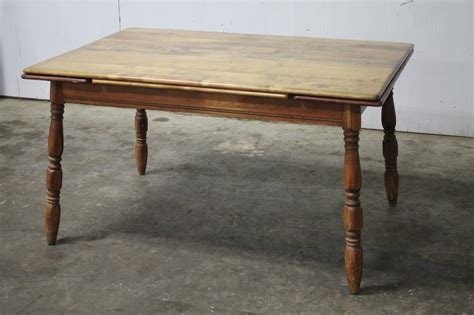 Kitchen Pull Out Table Kitchen Table With Pull Out End Leaves