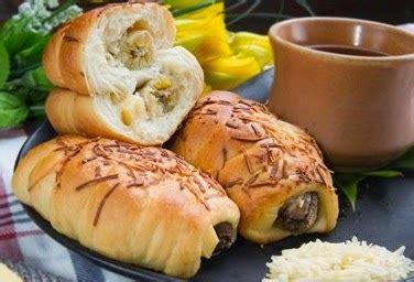 cara membuat roti isi pisang sweet cake resep kue roti isi pisang keju