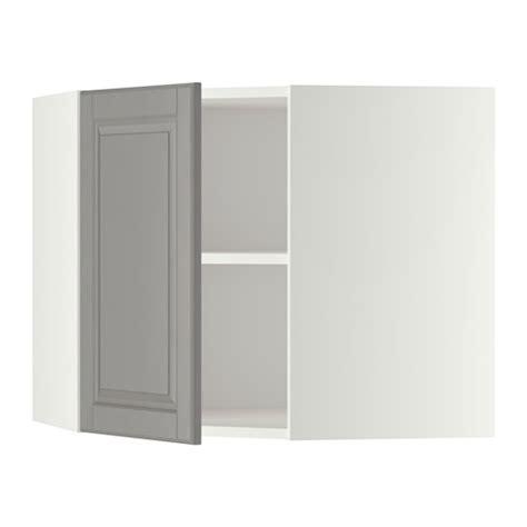 Rak Dinding Sudut metod kabinet dinding sudut dengan rak putih bodbyn abu