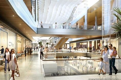 design center in miami climate ribbon will cool shoppers at miami area shopping