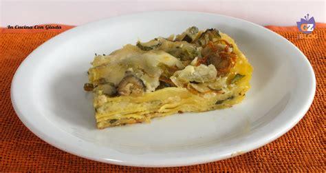 lasagne con zucchine e fiori di zucca lasagna di zucchine e fiori le delizie di giada