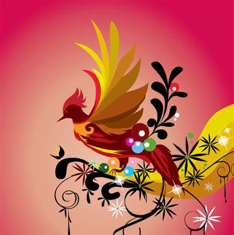 imagenes vectores para photoshop ave del paraiso vector vector clipart