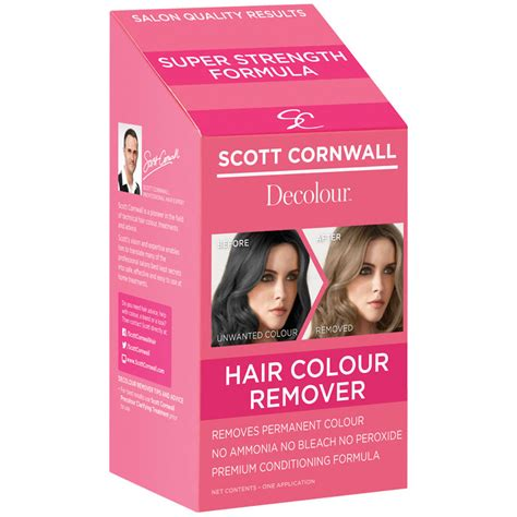hair color removal buy cornwall decolour hair colour remover at
