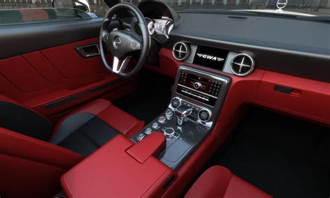 Classic Car With Modern Interior by Mercedes Gwa 300 Slc The Picture Of A Classic Car With A Modern Level Of Comfort