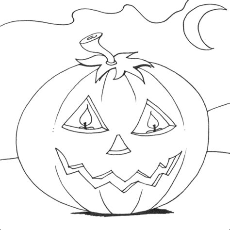 spooky pumpkin coloring pages transmissionpress scary pumpkin coloring pages