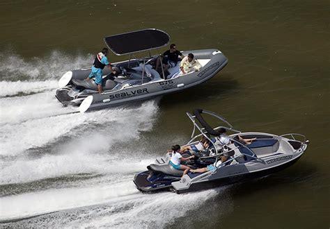 sea doo wave boats sealver wave boat 525 aquatic aviation