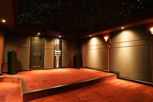home theater ceiling and wall panels for soundproofing
