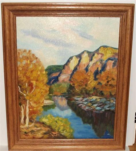 acrylic painting ebay marlene original acrylic on canvas impressionist landscape