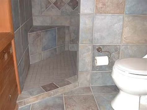 Small Doorless Shower Plans Shower Opening Options Doorless Shower Small Bathroom