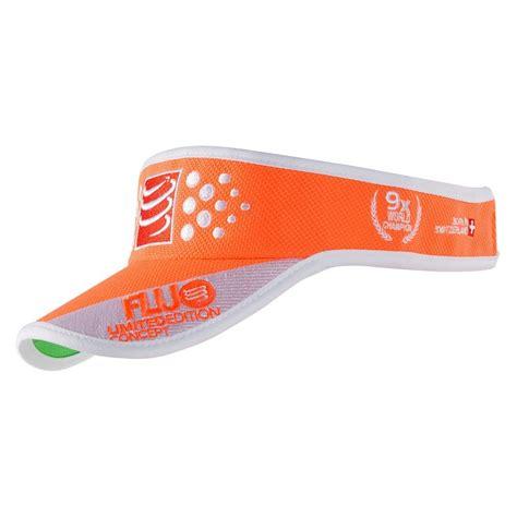 Compressport Running Visor Ultralight Orange compressport visor fluo orange the wildstore
