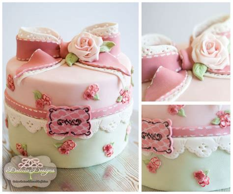 shabby chic birthday cakes cupcakes and cakes pinterest