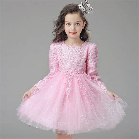 Q483 Baby Pink Birthday Tulle Dress white pink tulle autumn baby wedding dress princess dress lovely tutu dress
