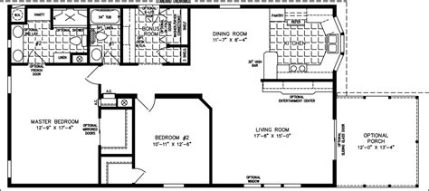Jacobsen Manufactured Homes Floor Plans by 1200 To 1399 Sq Ft Manufactured Home Floor Plans