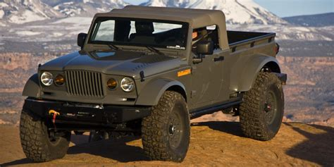 Jeep Truck Name Six Times Jeep Teased Us With A Truck Concept