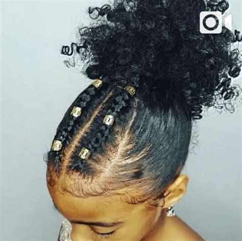 Best 25  Black girls hairstyles ideas on Pinterest   Black kids hairstyles, Natural kids