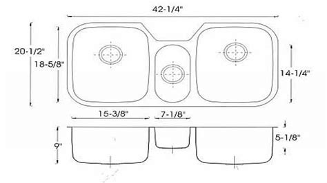 kitchen sink sizes kitchen sink dimensions standard kitchen sink standard