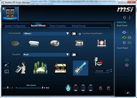 asus realtek audio driver windows 7 image gallery hd audio manager download