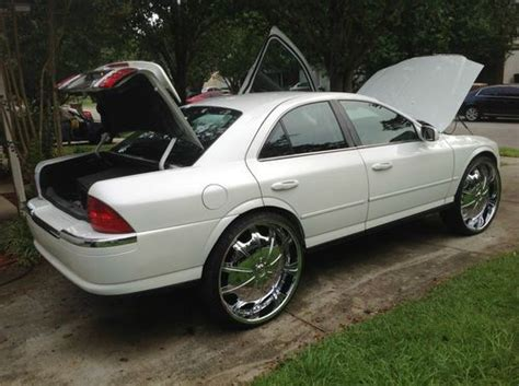 lincoln ls rims purchase used 2002 lincoln ls 28s 225 25 28 rims wheels