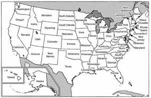 geography printable united states maps