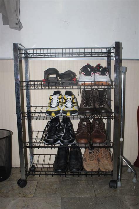 Jual Rak Sepatu Besi jual rak sepatu sandal