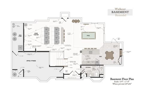 basement floor plans with bar login arcbazar