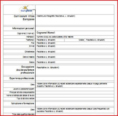 curriculum vitae europeo da compilare simili curriculum vitae da compilare e stare holidays oo