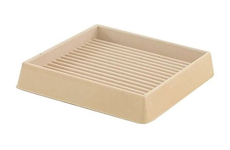4 Inch Square Rubber Furniture Cups by Shepherd Hardware 9168 3 Inch Square Rubber Furniture Cups