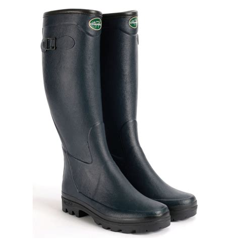 wellington boots alltracks country cotton lined