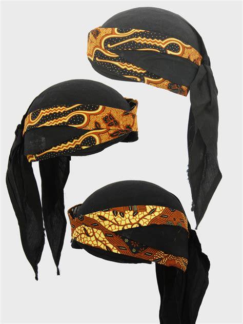 Blangkon Batik Sliwir jual blangkon khas jogja grosir tutup kepala khas jawa murah batik nitnot