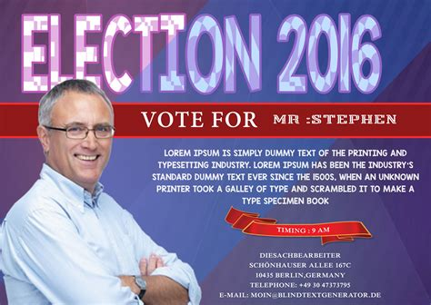 election flyers templates free caign with these free political caign flyer templates demplates