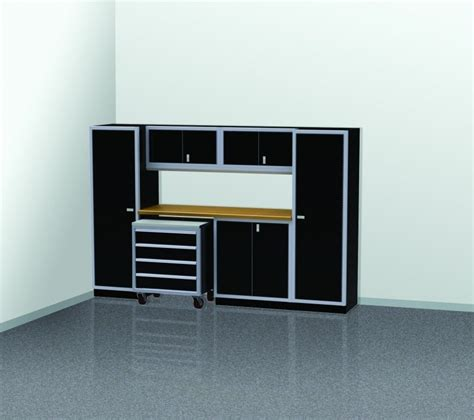 4 Ft Wide Storage Cabinet by Pgc010 03 10 Foot Wide Garage Cabinet Combination