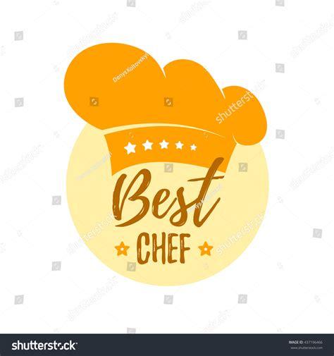 best chef hat best chef vector label icon stock vector 437196466