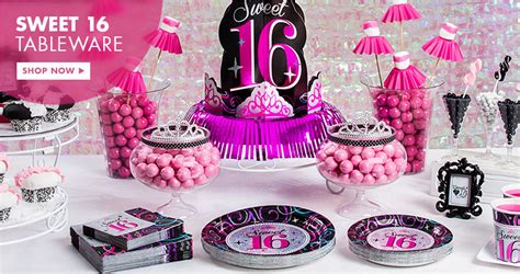 sweet 16 party supplies party city 16th birthday party supplies sweet 16 party ideas