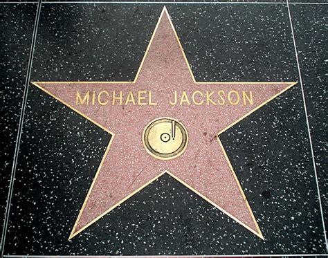 Les étoiles d'Hollywood, Californie Hollywood Walk Of Fame Stars Michael Jackson