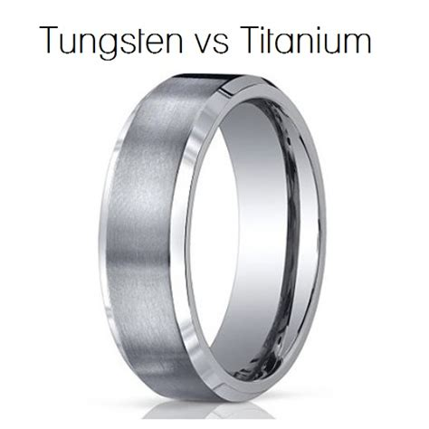 wedding rings titanium vs tungsten tungsten vs titanium for your mens wedding band camo