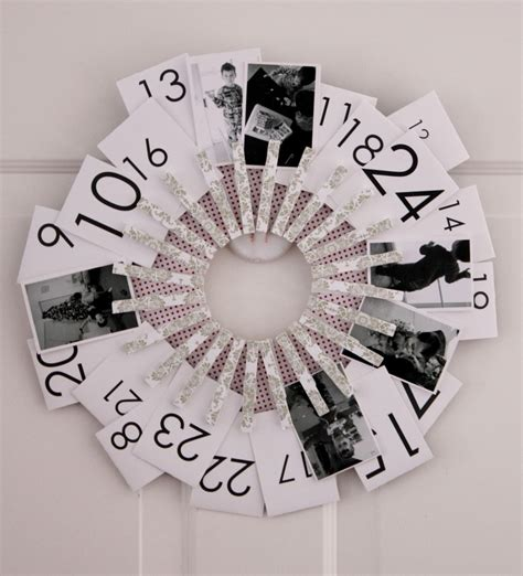 calendars using photos 91 best images about wreaths on yarn wreaths