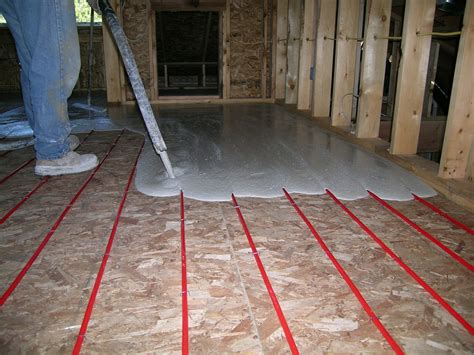 Diy Radiant Floor Heating by Diy Radiant Heat Installing A Radiant Heat System