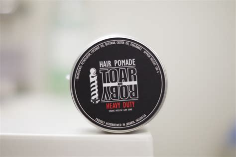 Pomade Toar And Roby Based Tnr Pomade The Original toar and roby heavy duty pomade the pomp