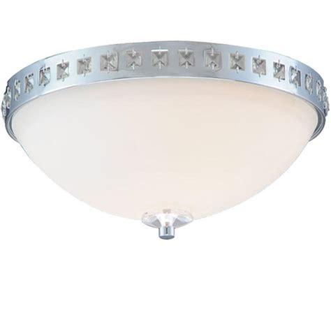 chrome flush mount ceiling light upc 694753090380 hton bay ceiling mounted lighting 2