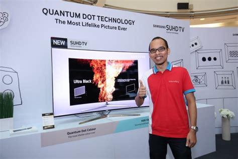 Tv Samsung Di Malaysia samsung melancarkan siri televisyen suhd 2016 di malaysia dengan harga bermula rm5999 amanz